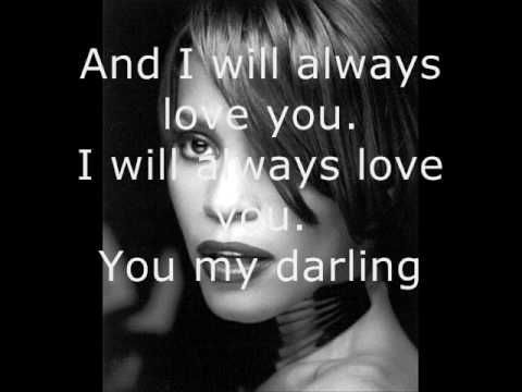 """I will always love you"" A truest love song. It's in the attitude more than the circumstances."