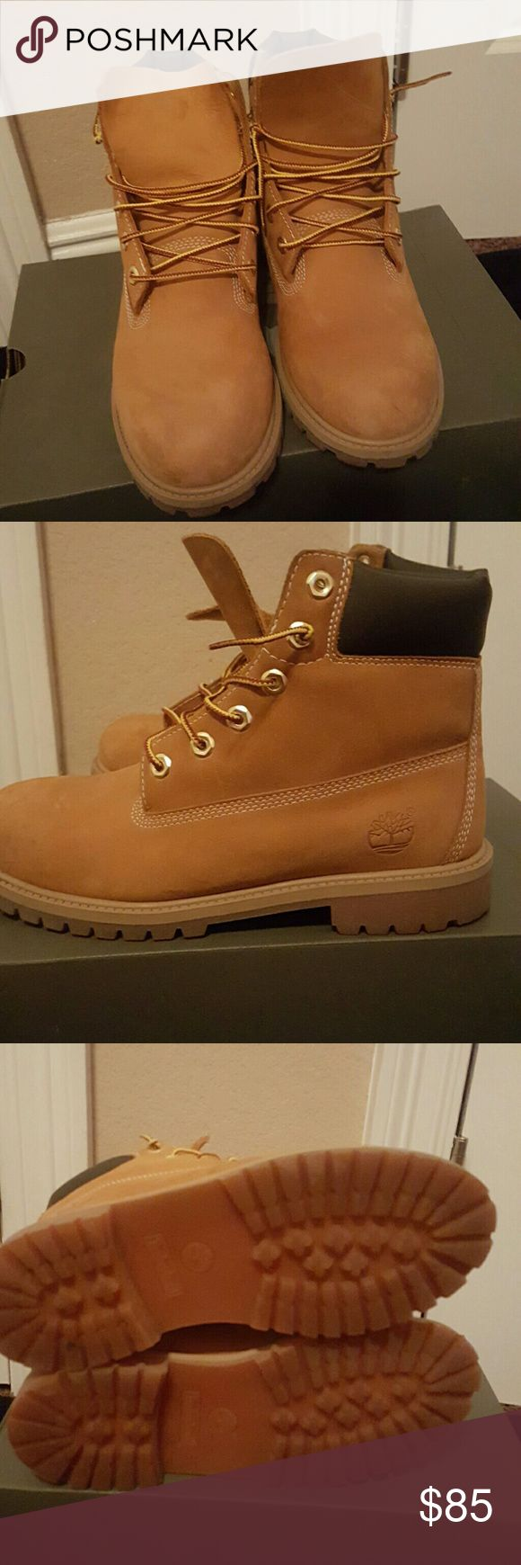 Timberland Boots Like new, great condition Wheat Timberland boots Timberland Shoes Boots
