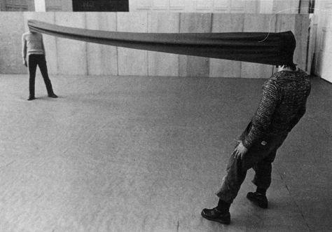 Franz Erhardt Walther Körpergewichte, 1966