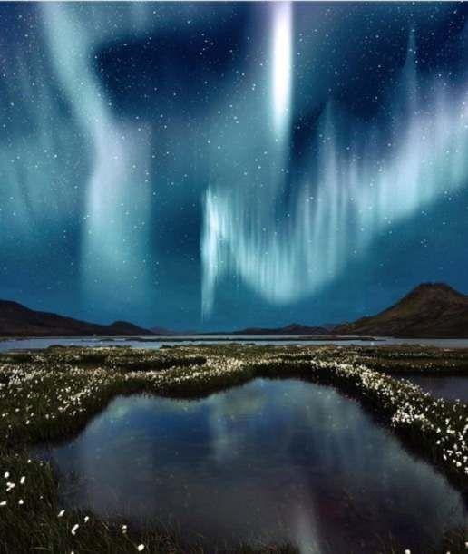 Aurora Borealis over Iceland