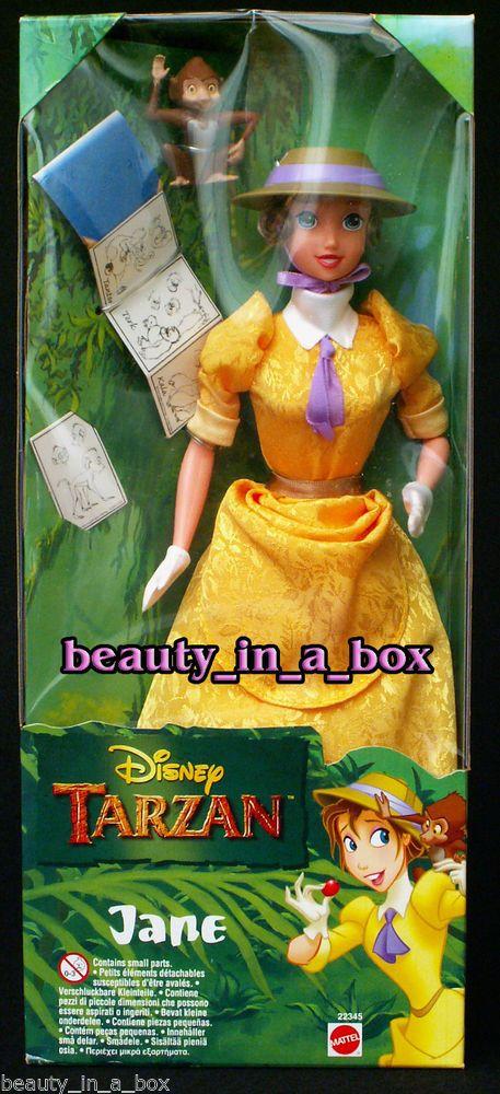 Jane Doll from Disney Tarzan Rare