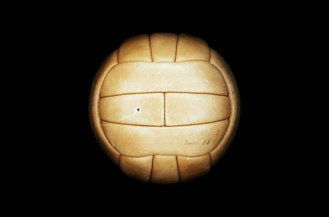 Balón utilizado durante el mundial de Suecia 1958