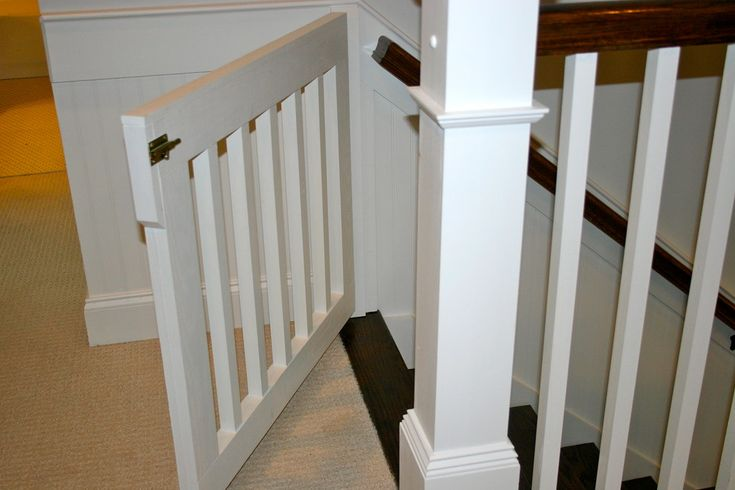 baby-gates-for-stairs-Staircase-Modern-with ...