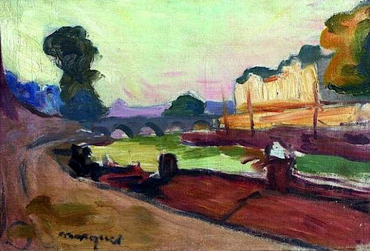 Albert MARQUET (1875-1947) Paris, pont de la Tournelle