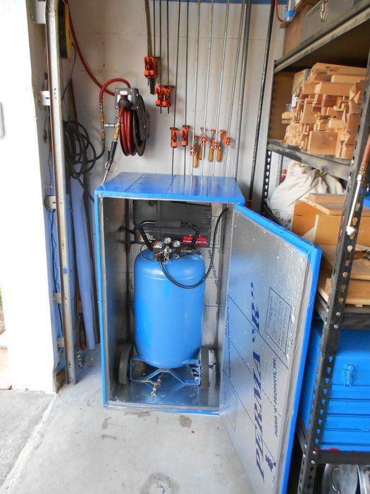 Compressor Barn Sound Dampen Proofing Air Compressor