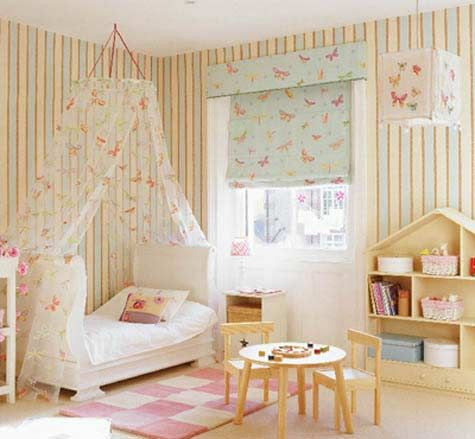 I Love The Ice Cream Colors Of This Room