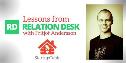 How to land huge clients and other lessons from Relationdesk http://hubs.ly/y0kWCN0 #blogg24 #startups #inspiration