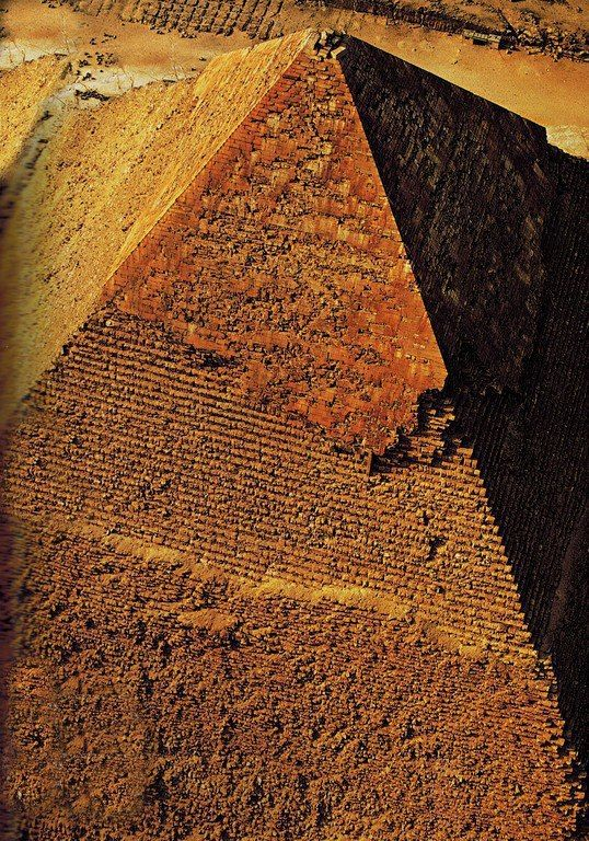 Egypt. The great pyramid