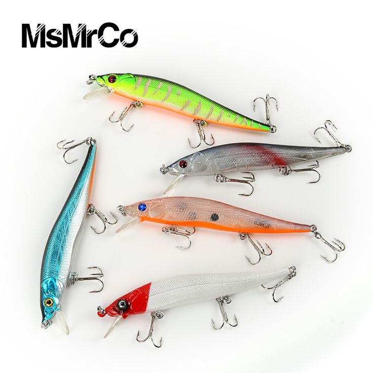 1PCS super quality 5 color 11.5cm new lures Minnow 13.1g false bionic bait hard plastic lures artificial 3D eyes fishing tackle