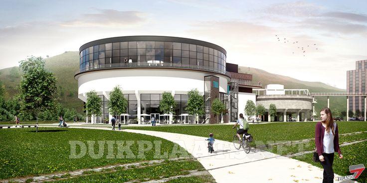 De bouw van het grootste #indoorduikcentrum #TODI vordert gestaag. Eind oktober duiken tussen de #subtropische zoetwatervissen!