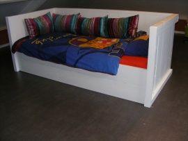 Boyd  Heerlijke relax bed/bank om in te chillen. Een bed waarin je 24 uur in wilt vertoeven. Natuurlijk een bed om in te slapen, maar zeker ook een heerlijke bank om in te gamen, chillen of gewoon om lekker in te hangen. Kortom een bed dat elke kind in zijn of haar kamer wilt.