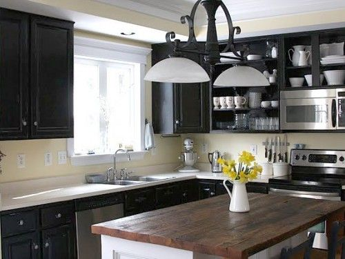 Painted Black Kitchen Cabinets 36 best shelley cabinets images on pinterest | kitchen, home and