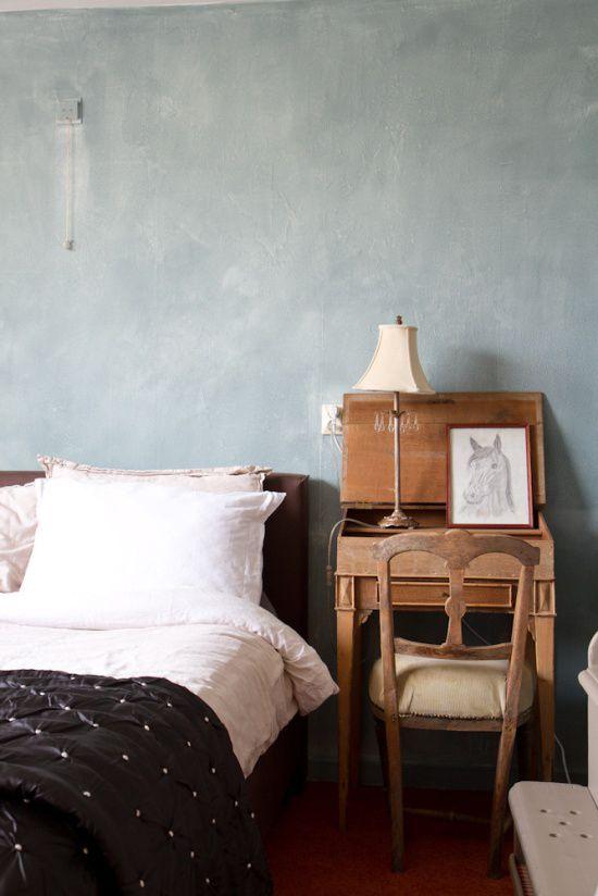 Muren schilderen met kalkverf | Wooninspiratie