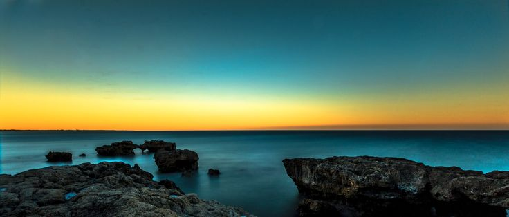 Tranquility - A beautiful sunrise Algarve Portugal test of my new Lee ND filter Bigstopper 10  testing