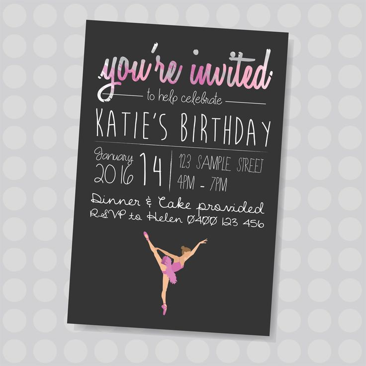 45 best KIDS BIRTHDAY INVITES images on Pinterest | Birthday ...