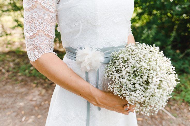 Ein Brautstrauß nur aus Schleierkraut.   Foto: Stephan Presser Photography
