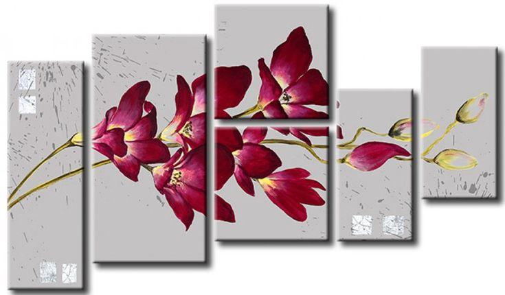 Ve cuadro Orquídea salvaje y otras decoraciones en la galería bimago - cuadros pintados a mano, trípticos, reproducciones y impresiones en lienzo.