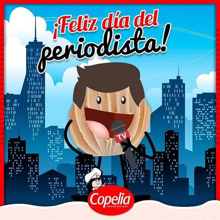 """""""No conozco un mejor oficio en el mundo, que el de #periodista""""  Gabriel García Márquez. #Copelia los felicita en su día www.alimentoscopelia.com  #Panelitas #Coco #Copelia #Arequipe #Dulce #Cocadas #AmoACopelia #NosGustaCopelia #Instagood #Instafood #DulceDeLeche #LecheCondensada #Postres #Dulce #Sugar #Sweet #colombia"""