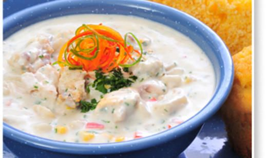 Add a little seafood to your #holiday celebration with this #healthy Country Mullet Chowder from @Florida Agriculture