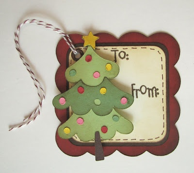Another Christmas tag