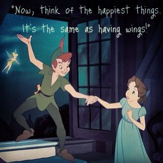 Peter Pan and Wendy Kiss | Peter Pan Wendy.