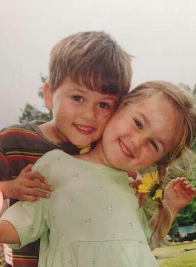 Awwww!!! They are so cute.  Sadie and John Luke- duck dynasty