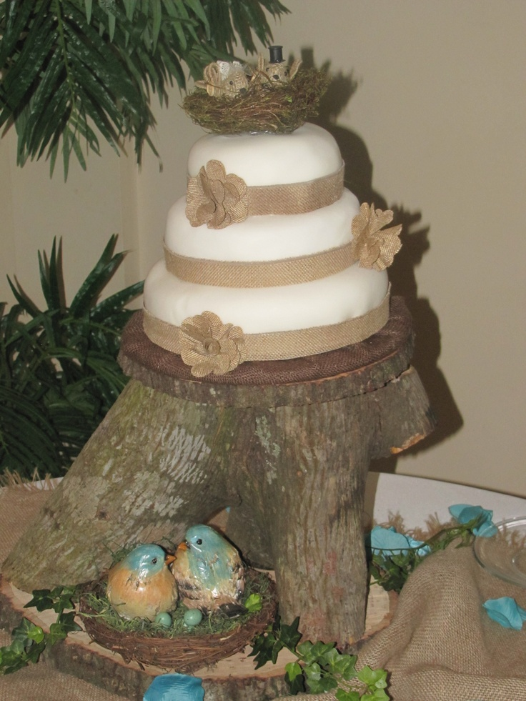 wedding cake tree stump stand 17 best images about wood stump on rustic 26707