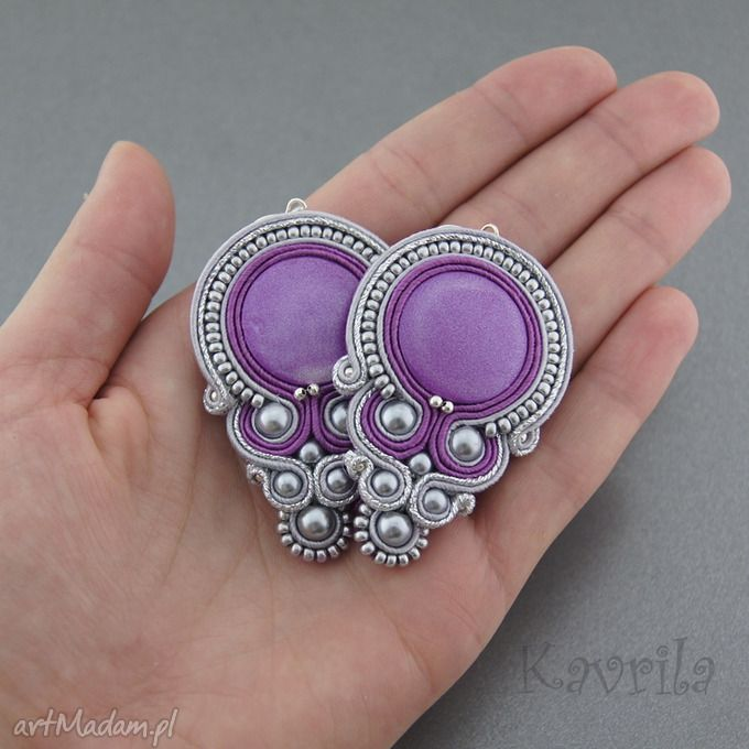 Comis purple soutache . $32