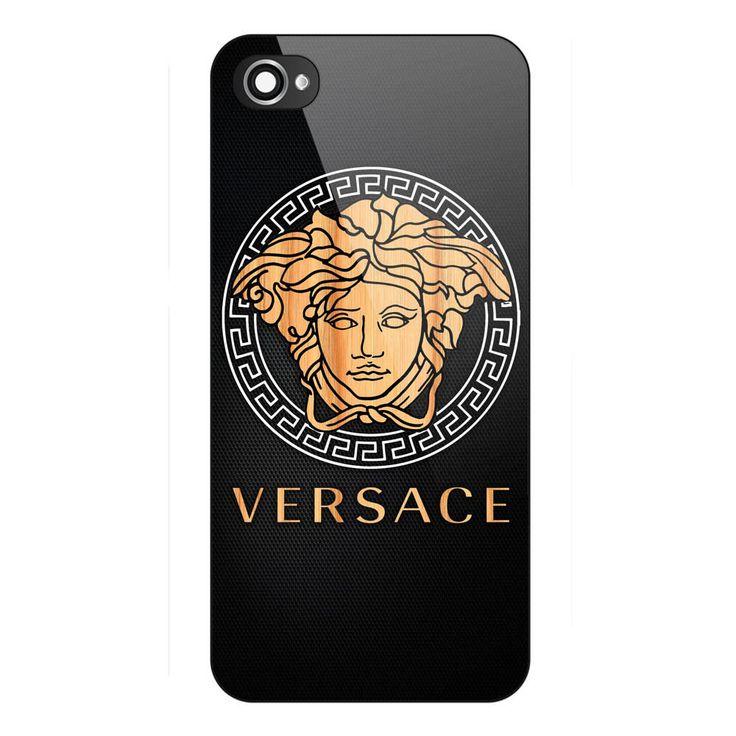 Best Seller Versace Logo Wood Carbon Print On Hard Cover Case iPhone 6/6s 6sPlus #UnbrandedGeneric
