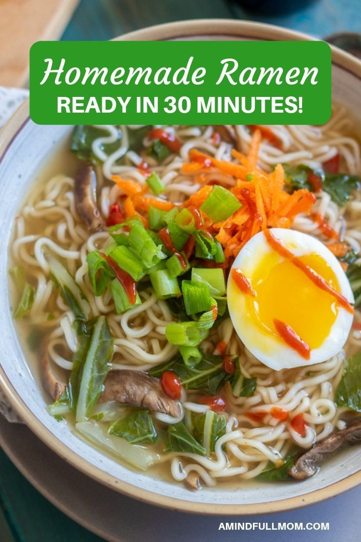 Making A Delicious Ramen At Home Is Not Hard This Easy Vegetarian