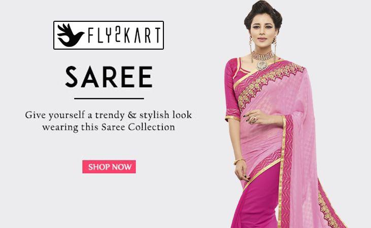 BUY DESIGNER SAREES ONLINE SHOPPING http://www.fly2kart.com/sarees-saris.html?utm_content=buffer03058&utm_medium=social&utm_source=pinterest.com&utm_campaign=buffer 50% OFF HURRY UP! Limited Offer Whatsapp or call +91-8000800110