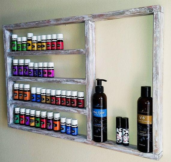 Essential Oil Shelf Essential Oil Display Oil Storage