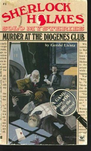 Sherlock Holmes solo mysteries #1 Murder at the Diogenes Club