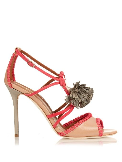 Malone Souliers Ruth tassel leather sandals