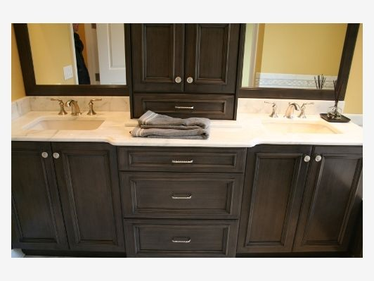 Bathroom Cabinets And Countertop Dark Wood House Remodel Ideas Pinterest New Jersey