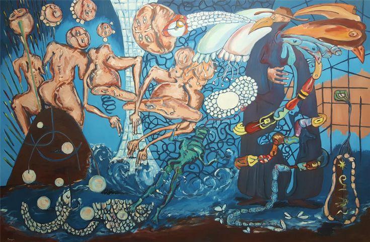 """Sergi Peragón: """"The man of the seven seas / El señor de los 7 mares"""" (2012) - Subasta Real"""