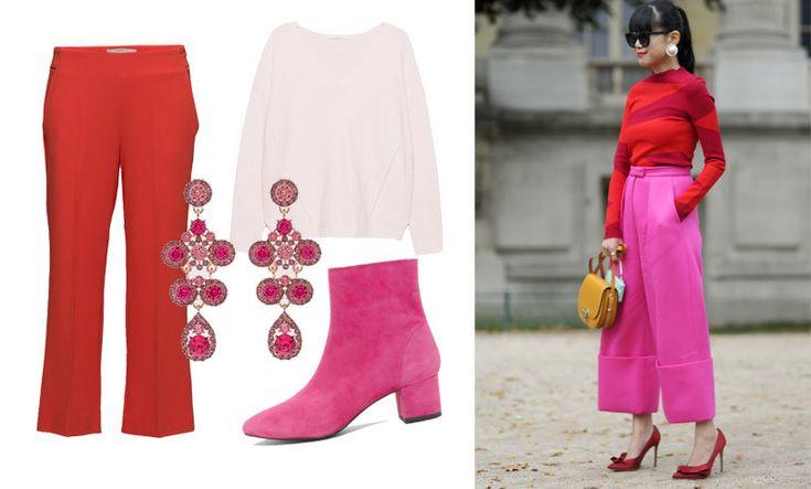 Rött och rosa är vårens stilsäkraste kombo!
