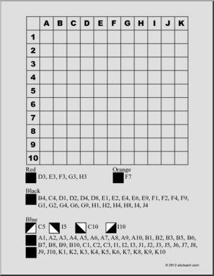 Oefenen met kaartlezen dmv kleurplaat