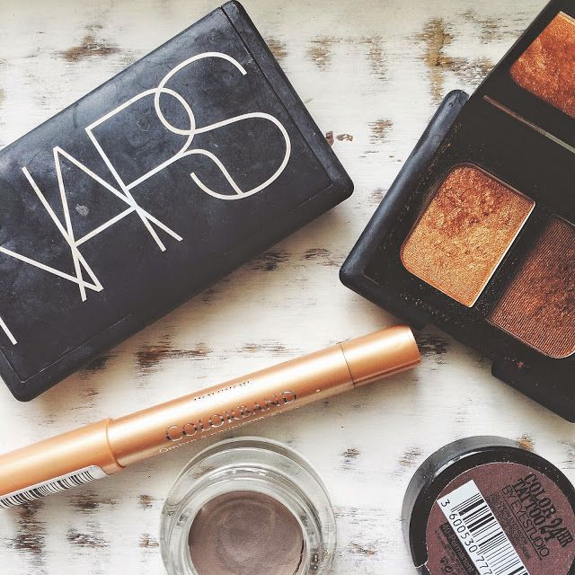 My favourite Copper eye makeup combination, featuring the Nars Isolde Duo eyeshadow palette. www.vanityfrills.com