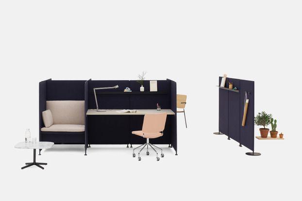 Ease golvskärm - Edsbyn kontorsmöbler