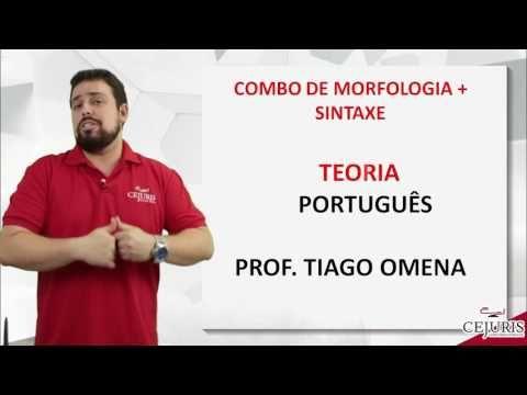 Tiago Omena - Apresentação do Combo Morfologia + Sintaxe