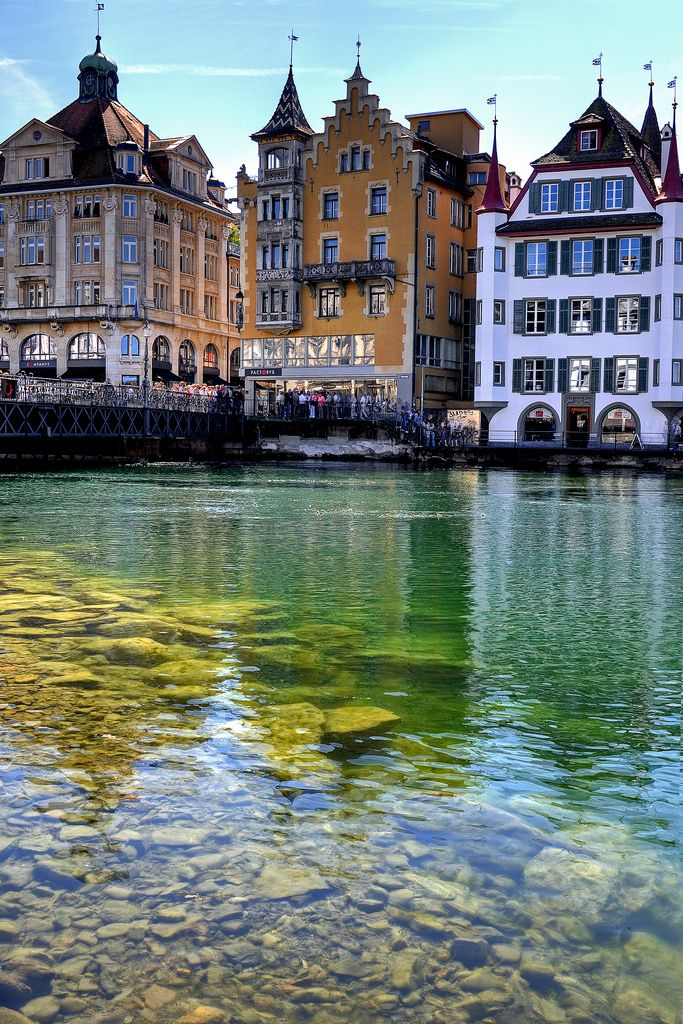 Lucerne / Switzerland. Switzerland is the mostbeautiful country together with Scotland conserning nature anyway!