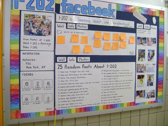 Facebook bulletin board