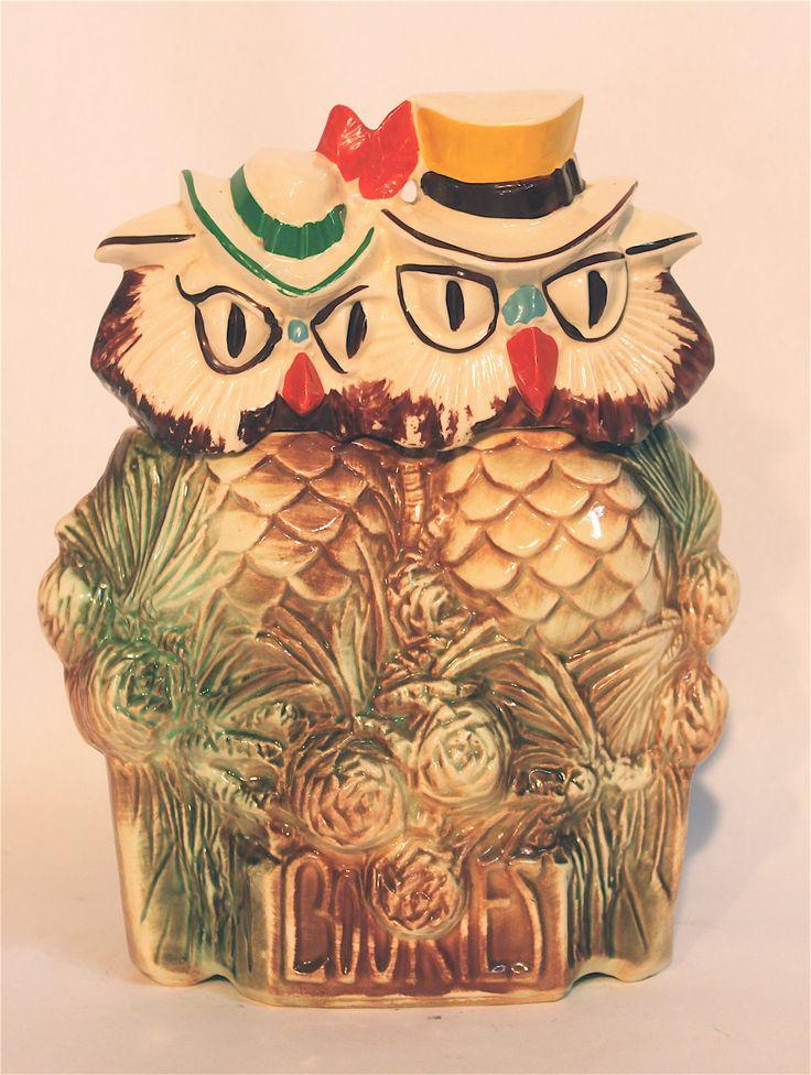 Mccoy Owl Owl Pinterest Cookie Jars