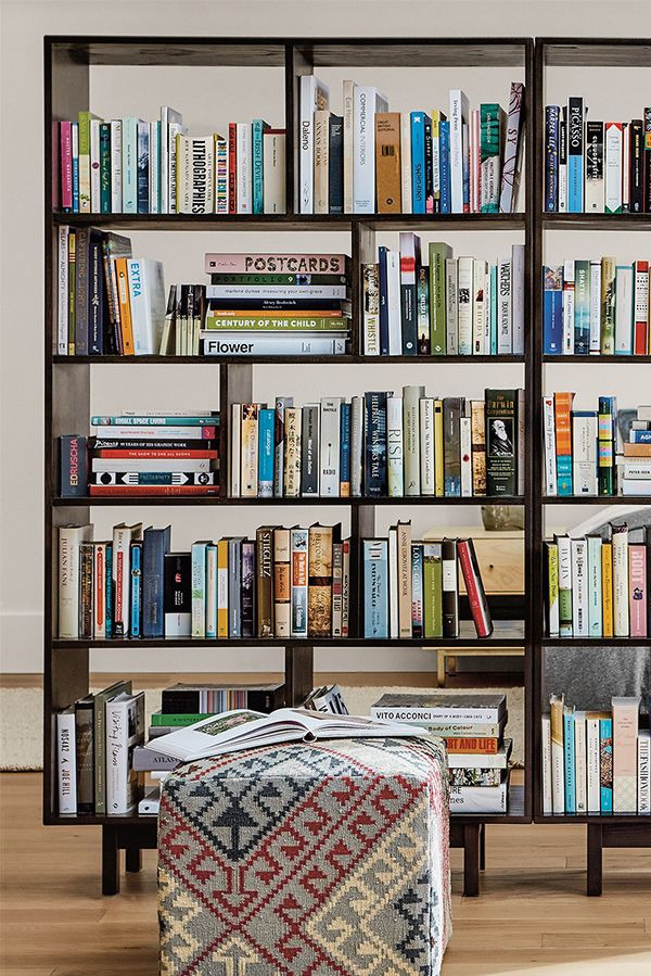 17 best ideas about room divider bookcase on pinterest studio apartment storage wall - Half wall bookcase room divider ...