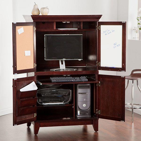 9 best hidden computer desk images on Pinterest | Work ...