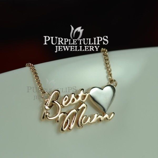 133 best purple tulip jewellery images on pinterest swarovski 18ct rosewhite gold plated best mum pendant necklace for mothers mozeypictures Image collections