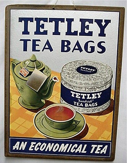 Image detail for -Tetley Tea Bags Advertising Sign