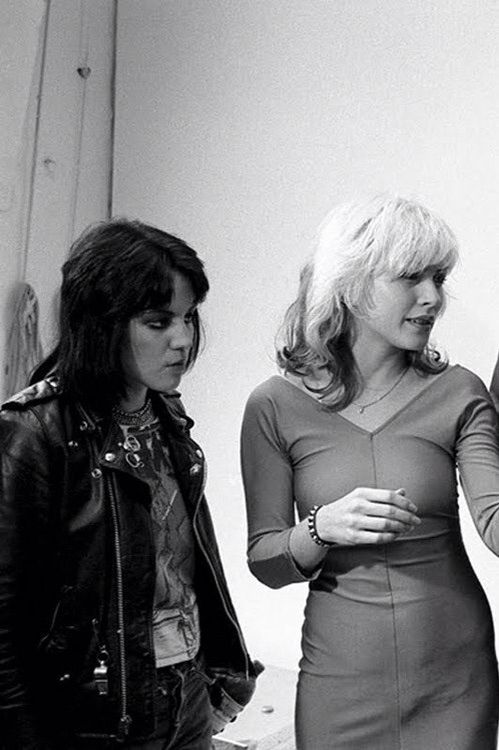 Debbie Harry blondie Joan jett