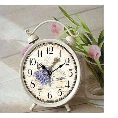 Lavender Table clock - Reloj de sobremesa para decoraciones Lavanda